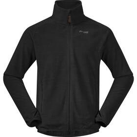 Bergans Hareid Fleece Jacket Men black melange